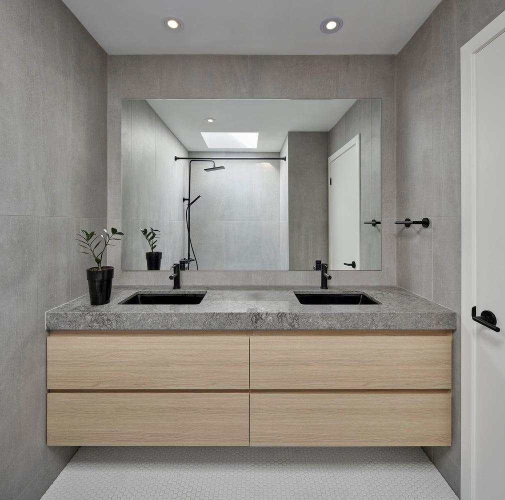 Tủ lavabo nhỏ gọn, tiện dụng